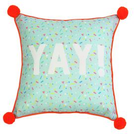 Argos Home Miami Pom Pom Yay Outdoor Cushion