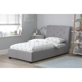 Argos Home Benjamin Grey Bed & Mattress