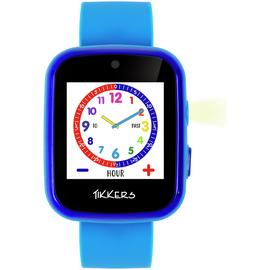 Tikkers Time Teacher Blue Silicone Strap Smart Watch