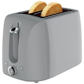 Cookworks 2 Slice Toaster - Grey