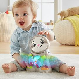 Fisher-Price Linkimals Smooth Moves Sloth Baby Toy