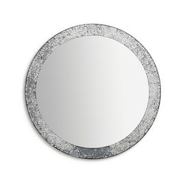 Argos Home India Round Crackle Mirror