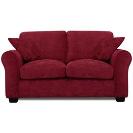 Argos Home Tammy 2 Seater Fabric Sofa - Wine