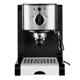 Cookworks Espresso Coffee Machine - Stainless Steel