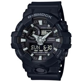 Casio G Shock Gents Black Resin Strap Watch