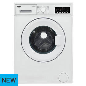 BUSH WMNB712EW 7KG 1200 Spin Washing Machine - White