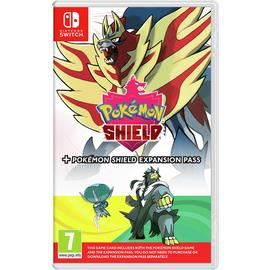Pokémon Shield And Expansion Pass Nintendo Switch Game