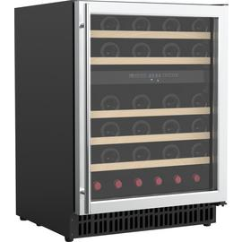 Bush WDZ46 46 Bottle Dual Zone Wine Cooler - S/Steel