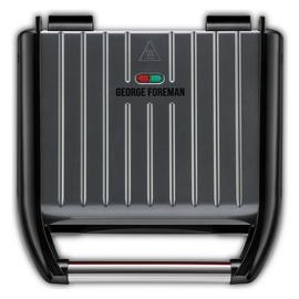 George Foreman Medium Grey Steel Grill 25041