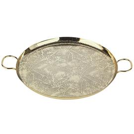 Argos Home Rainforest Gold Effect Metal Tray