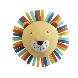 Arthouse Kid's Rainbow Lion Head Wall Art