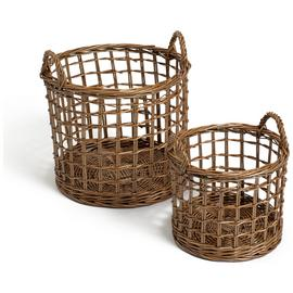 Habitat Pack of 2 Fisherman Baskets