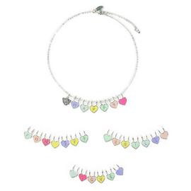 Me to You Kids Silver Coloured Make Your Own Necklace Set