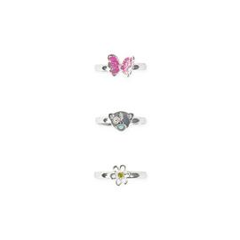 Me to You Kids Silver Coloured Spring Ring - Set of 3