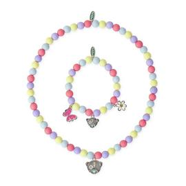 Me to You Kids Multicoloured Beaded Bracelet and Pendant Set