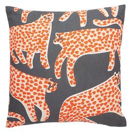 Habitat Cheetah 45 x 45cm Patterned Cushion