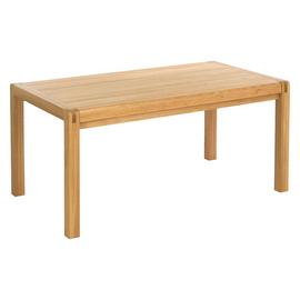 Habitat Radius Extending Solid Oak 6-10 Seater Dining Table