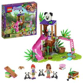 LEGO Friends Panda Jungle Tree House Rescue Play Set - 41422 Best Price, Cheapest Prices