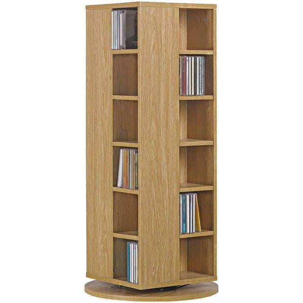 buy home twister cd and dvd media storage oak effect at. Black Bedroom Furniture Sets. Home Design Ideas