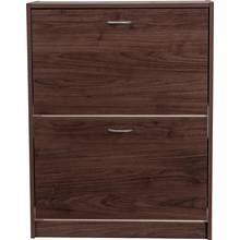 HOME Shoe Storage Cabinet - Walnut Effect