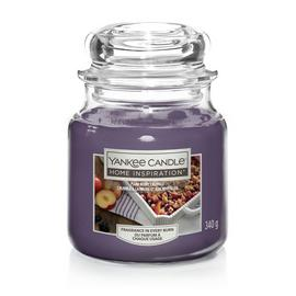 Home Inspiration Medium Jar Candle - Plum Berry