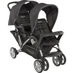 more details on Graco Black Stadium Duo Tandem Pushchair.