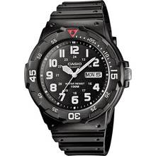 Casio Men's Black Resin Strap Rotating Count Up Bezel Watch