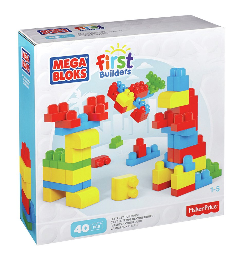 buy mega bloks first builders maxi bloks - 40 piece | 2 for 15