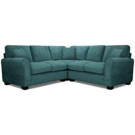 Argos Home Tammy Corner Fabric Sofa - Teal
