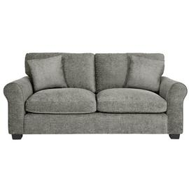 Argos Home Tammy 3 Seater Fabric Sofa - Mink