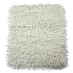 more details on HOME Faux Flokati Rug - Natural.