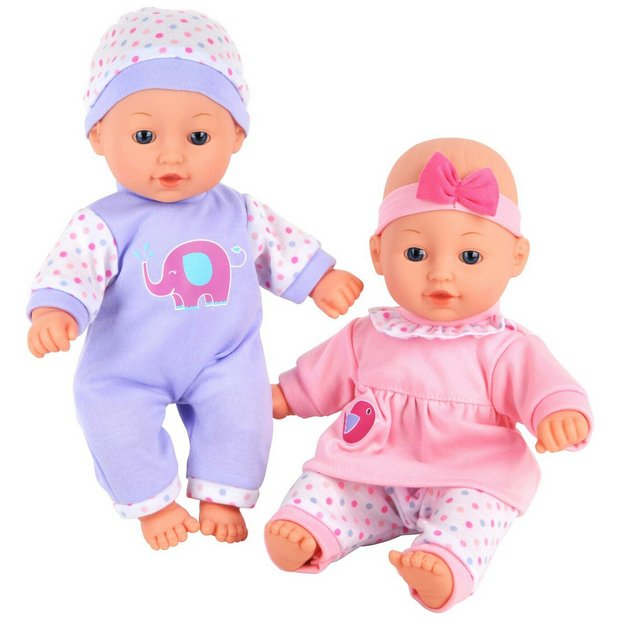 Buy Chad Valley Babies To Love Talking Twin Dolls At Argos