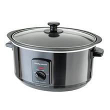 Morphy Richards Accents Sear and Stew Slow Cooker - Black