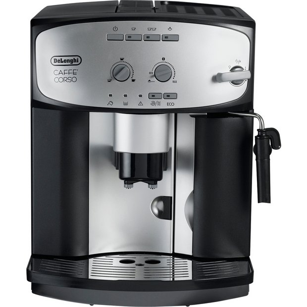 buy de 39 longhi esam2800 cafe corso bean to cup coffee machine coffee machines argos. Black Bedroom Furniture Sets. Home Design Ideas