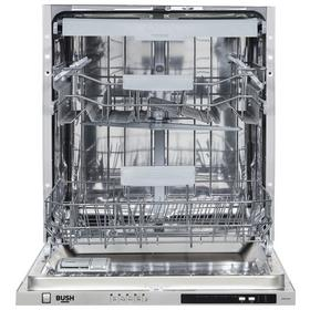 Bush DWINT15LC Full Size Full Integrated Dishwasher - Silver