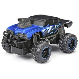 New Bright 1:24 Radio Controlled Mega Muscle Truck - Blue