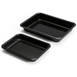 Argos Home Set of 2 Non-Stick Roasters