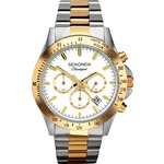 more details on Sekonda Classique Men's Two-Tone Chronograph Watch.