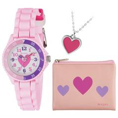Tikkers Pink Time Teacher Watch Set
