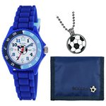 more details on Tikkers Boys' Blue Football Watch Set.
