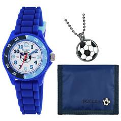 Tikkers Blue Football Watch Set