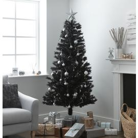 Argos Home 6ft Lapland Christmas Tree - Black