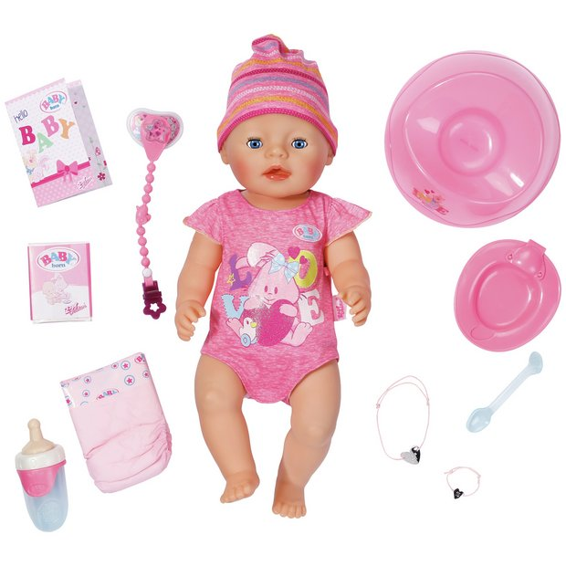 Toys Are Us Baby Dolls : Buy baby born interactive doll at argos your