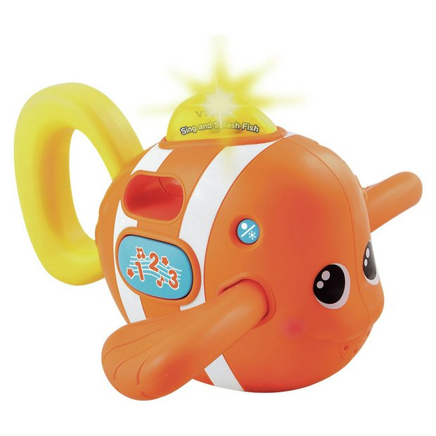 buy vtech sing and splash fish bath toy at your online shop for baby bath toys and. Black Bedroom Furniture Sets. Home Design Ideas