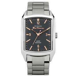 Ben Sherman Men's Silver Coloured Bracelet Watch