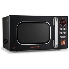 Morphy Richards 800W Standard Microwave EVO - Rose Gold