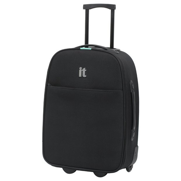 Buy IT Luggage 2 Wheel Business Cabin Case - Black at Argos.co.uk ...