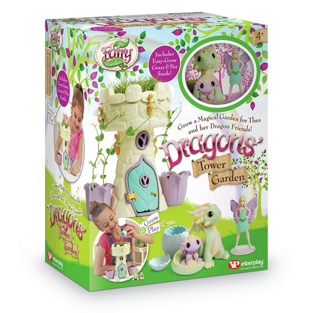 Buy My Fairy Garden Dragons Tower | Playsets and figures | Argos