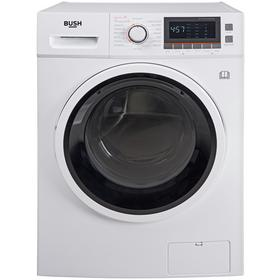 Bush WDNBX107W 10KG / 7KG 1600 Spin Washer Dryer - White