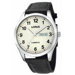more details on Lorus Men's Lumibrite Black Strap Watch.